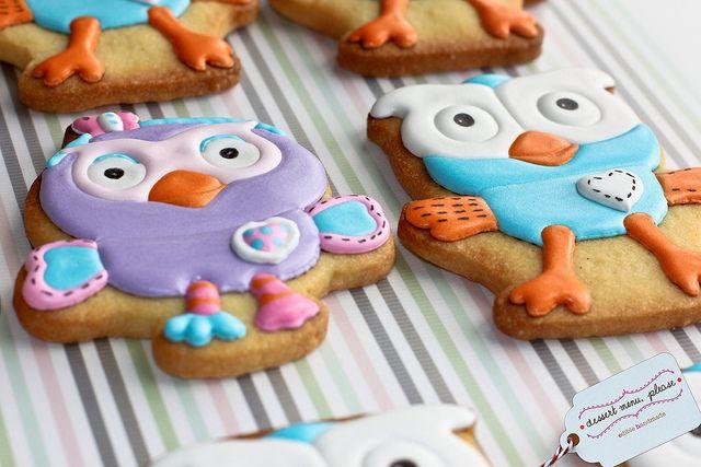 Hoot & Hootabelle Cookies   Flickr - Photo Sharing!