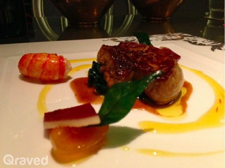 Crispy Seared Duck Foie Gras at Chateau Blanc