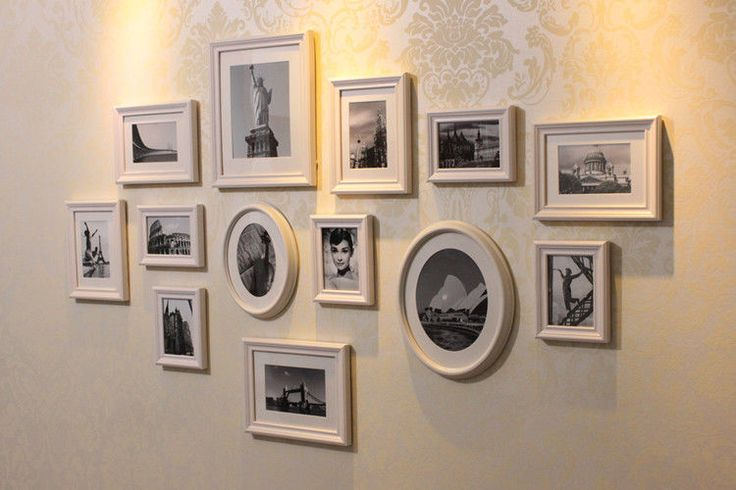 13 Pieces Multi Photos Pictures Art Frames Collage Family Frames Set #besthome #Contemporary