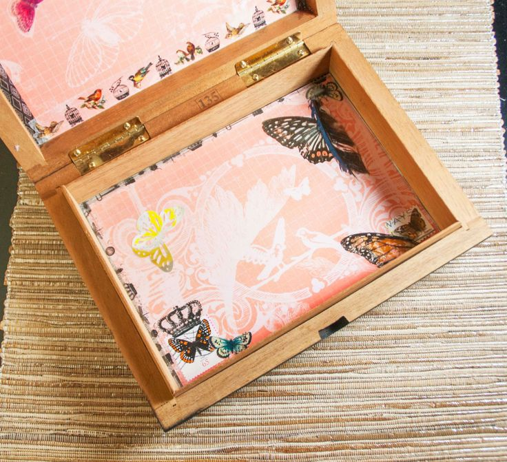 Butterfly Stash Box by SleeplessDreaming on Etsy