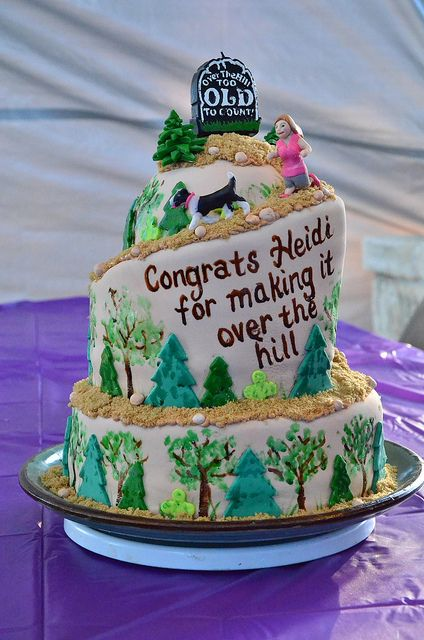 80 best Cakes Over the Hill cakes images on Pinterest Birthday