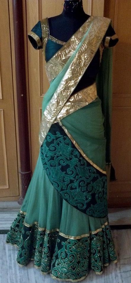 Half saree..