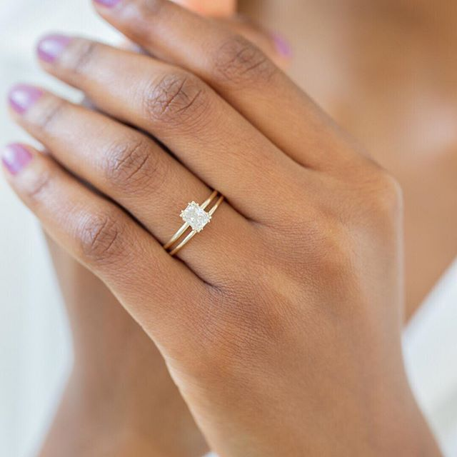 Details about  /2 Ct Solitaire Oval-Cut Diamond 14K Yellow Gold Finish Solitaire Engagement Ring