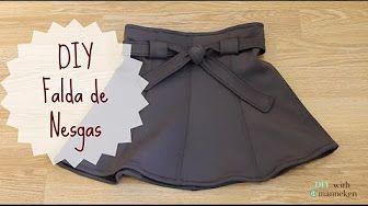 Alta costura en faldas tableada y gajos trazos de patrones - YouTube