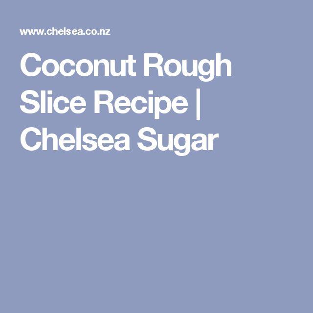 Coconut Rough Slice Recipe | Chelsea Sugar