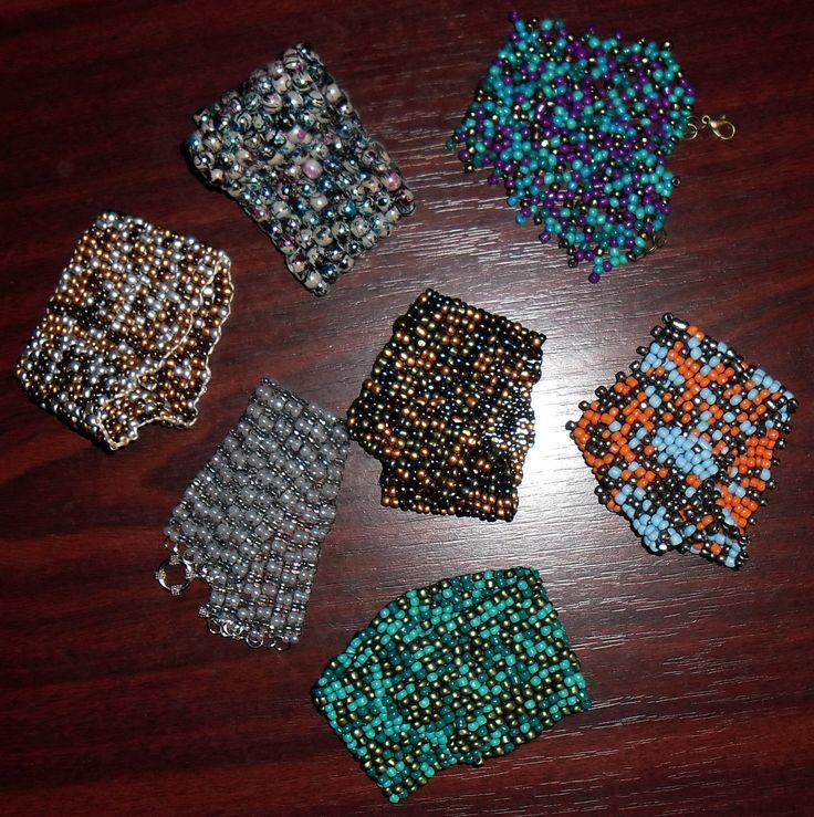 beads cuffs