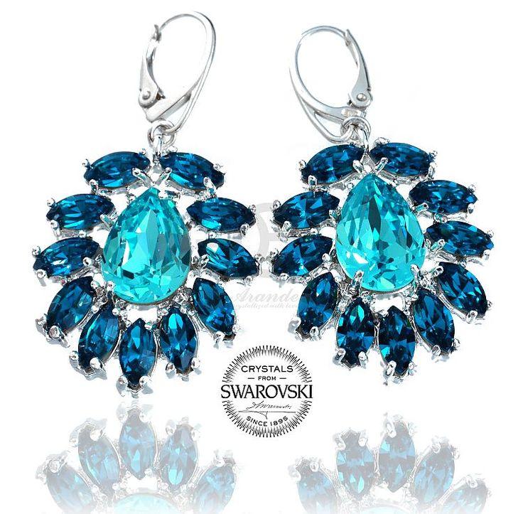 Premiera! Najnowsze kolczyki Swarovski Azure. Zobaczcie więcej kolorów: http://arande.pl/store/Kolczyki #swarovski #biżuteria #jewelry #kolczyki #earrings #moda #zakupy
