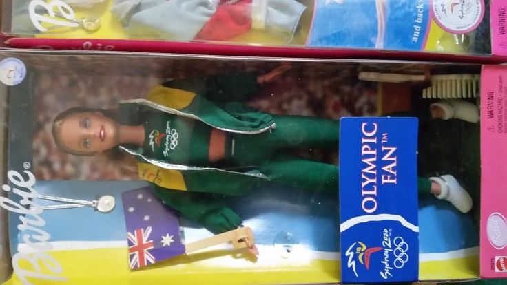 Barbie Sydney 2000 Olympic set