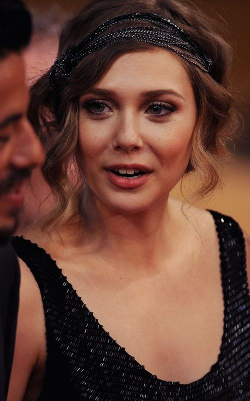 Elizabeth Olsen | 1920's retro flapper fashion vintage inspired