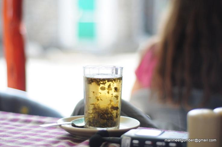 Green Tea keeps me Clean. :)