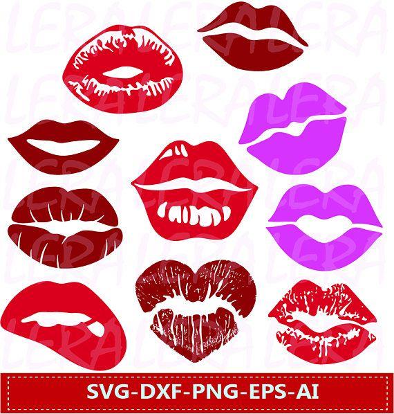 60 % OFF Lips svg  Lips clipart Lips kiss clip art digital