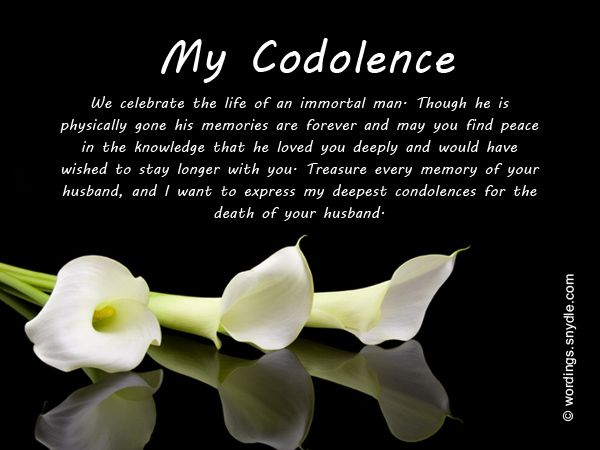 Best  Condolences Messages For Loss Ideas Only On