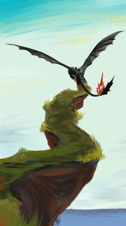 Beautiful ♡ Toothless ^.^ ♡ I give good credit to whoever made this