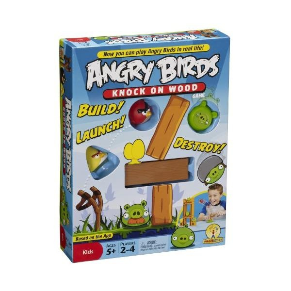 Mattel - Juego Didactico Angry Birds