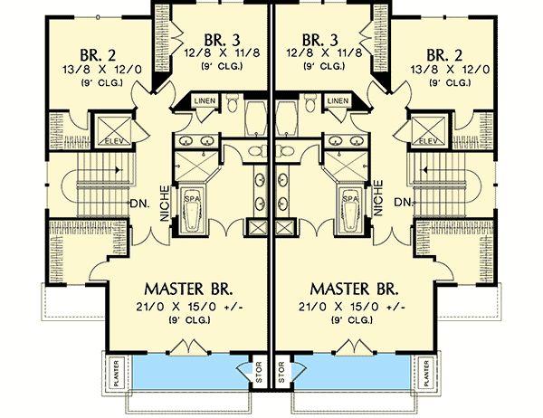 25 best ideas about family home plans on pinterest for Hillside elevator kit
