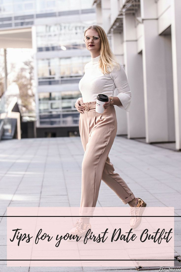 Your outfit for the first date is not only important to look good, but also to show who you are. There are some tips on how to find the perfect look for your first date on my fashionblog. blogger outfit: street style, volants, metallic