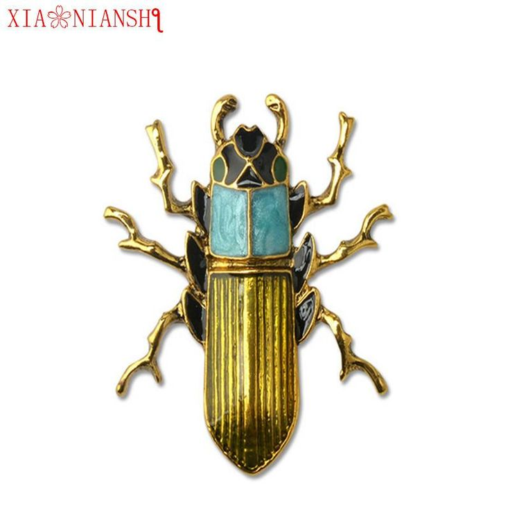 New Fashion Enamel Pin Cute Insect Brooch For Women Environmental Protection Alloy Needle. Item Type: BroochesFine or Fashion: FashionShape\pattern: InsectMetals Type: Zinc AlloyStyle: VintageMaterial: MetalBrooches Type: BroochesBrand Name: XIAONIANSHIModel Number: LS186Gender: UnisexOccasion: Engagement, Gift,Party,Christmasbroches: Insect BroochFashion Brooch: Pin jewelrypins: men broochVintage Brooch: Brooch for womenEnamel brooches: Beetle broochesBrooches for women: Enamel Pin…