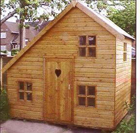 17 best log cabin playhouse images on pinterest play for Building a wendy house from pallets