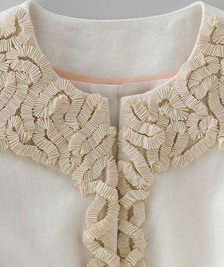 Boden - Ribbon Embellished Jacket Detail
