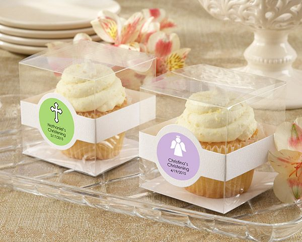 Cupcake Boxes - Religious (Set of 12) (Available Personalized)