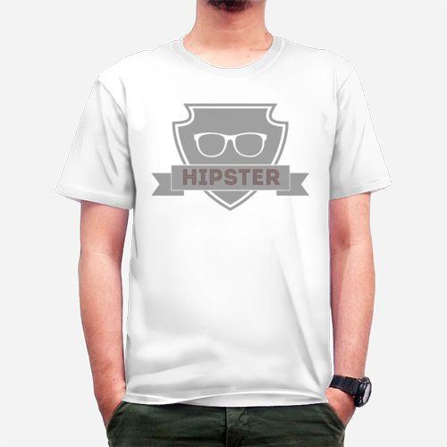 Hipster dari Tees.co.id oleh NanaMochi
