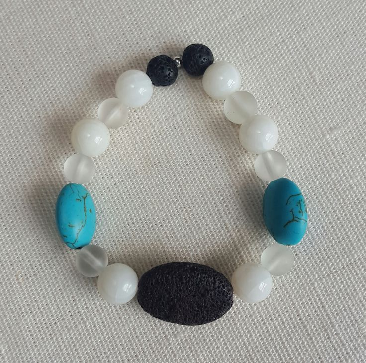 Stone and Shadow essential oil diffuser bracelet