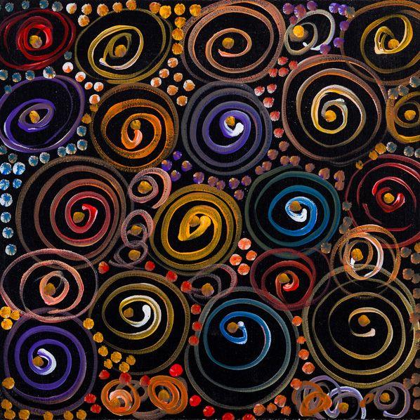 Lanita Numina - 'Thorny Lizard Changing Colours'