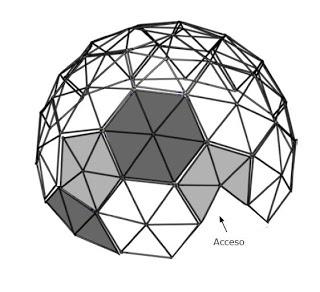 REVISTA DIGITAL APUNTES DE ARQUITECTURA: Cómo construir un domo Geodésico de Emergencias.