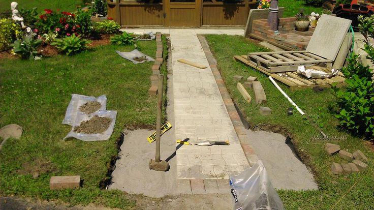 Interlock sidewalk, under construction!