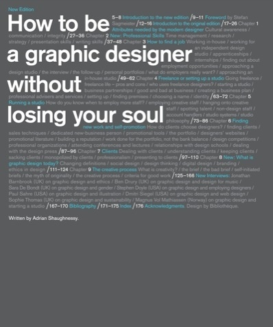 "Great book — ""How to be a Graphic Designer, Without Losing Your Soul"" by @AdrianShaughnessy."