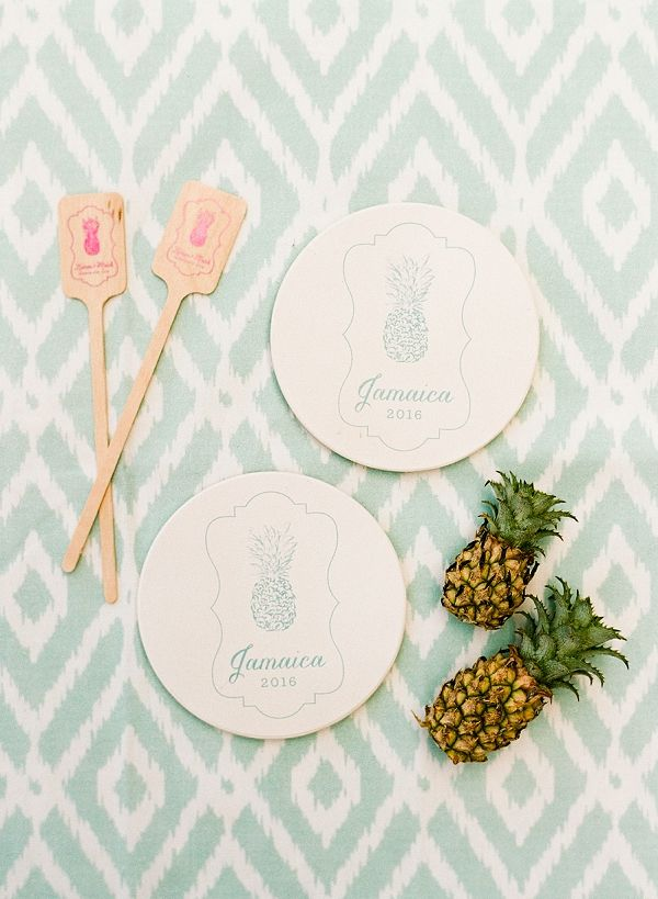 Tropical Wedding Details | An Elegant Tropical Wedding In Jamaica By Fine Art Photographer Sylvie Gil Photography