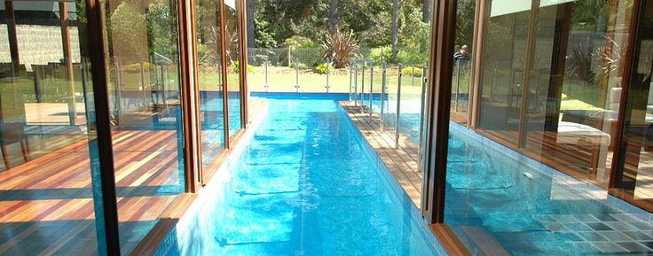 Beautiful Lap Pool, also a feature of the living area