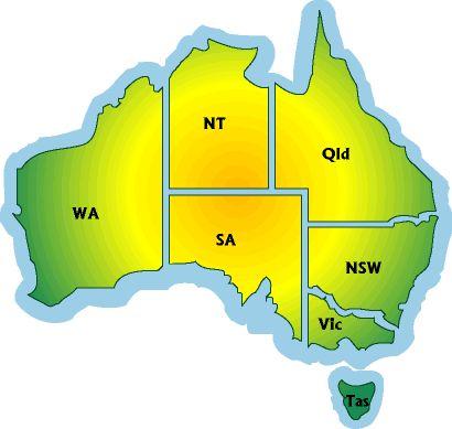 australia map - Google Search