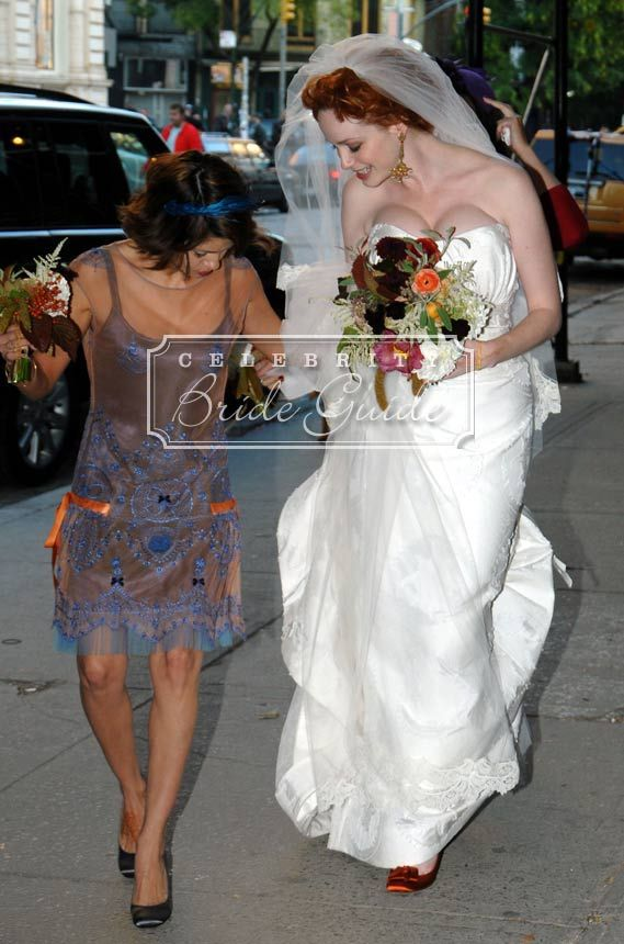 Geoffrey Arend and Christina Hendricks | Celebs Wedding ...