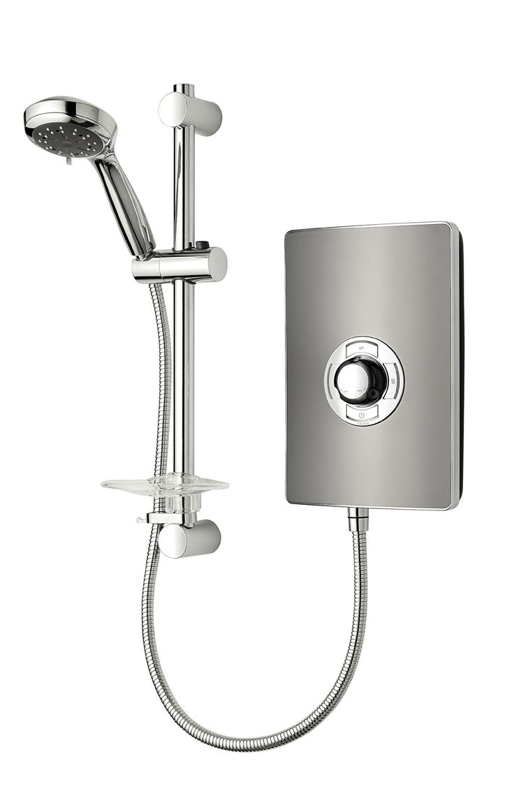 Collection II 8.5kW Electric Shower with Riser Kit | Wayfair UK
