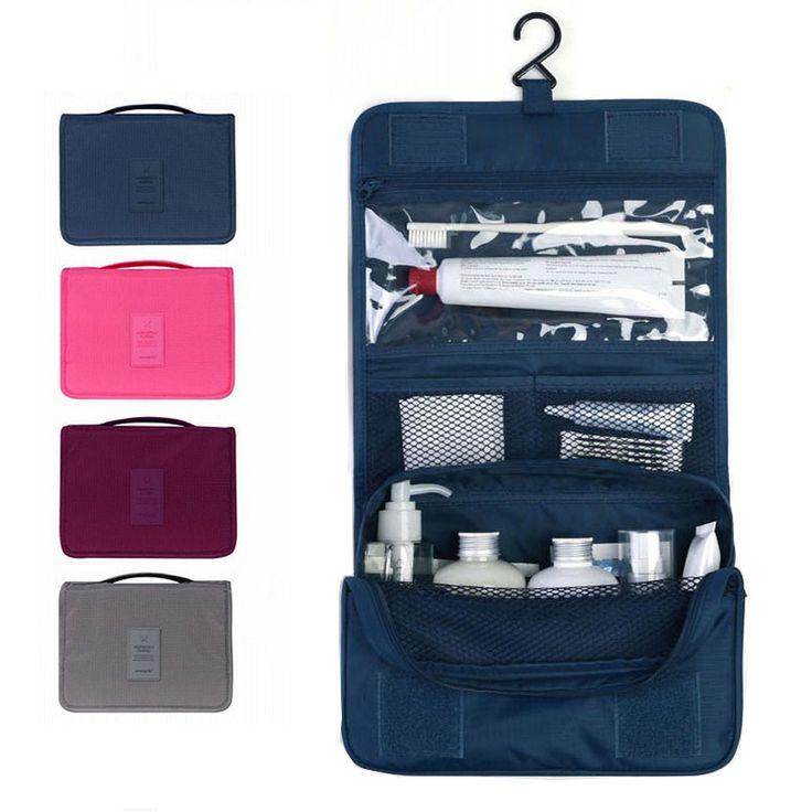 Mulheres Viajar Saco de Cosméticos para Homens de Higiene Pessoal Sacos Cosméticos Casos de Maquiagem À Prova D' Água Grande saco de Viagem de Higiene Pessoal Saco Pendurado Organizador