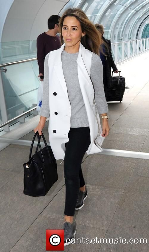 Rachel Stevens at Dublin Airport