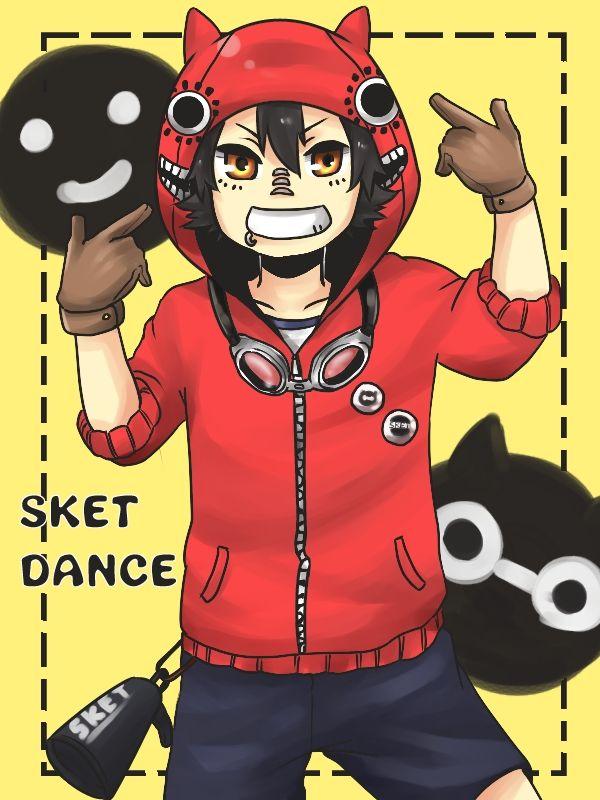 Tags: Anime, Goggles, SKET Dance, Fujisaki Yusuke, Vocaloid (Parody), Goggles Around Neck, Pixiv Id 2077056
