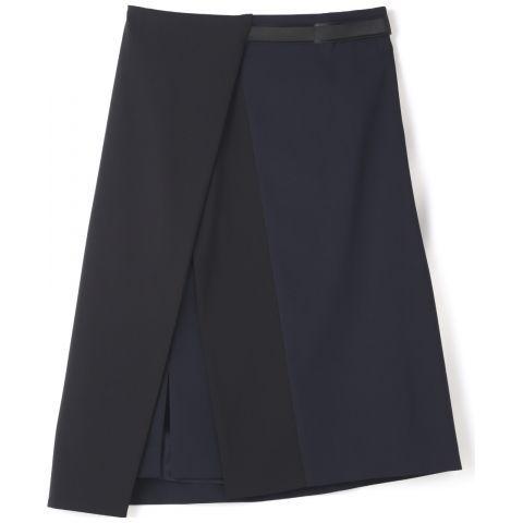 【セール】【2015 SS 2カタログ掲載】ハイカウントデシンバックリボンスカート(ADORE [アドーア] のスカート) | iQON