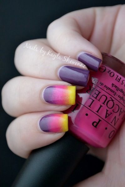 Nails by Kayla Shevonne: Sunset Gradient Manicure