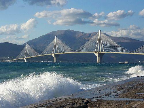 Rio-Antiro Bridge, Nafpaktos, Greece