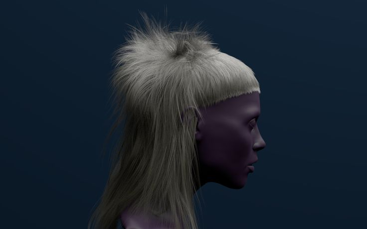 ArtStation - Renderman Hair Test, Juan Carlos Nunez