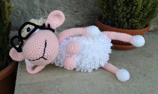 Háčkovaná ovečka Katka