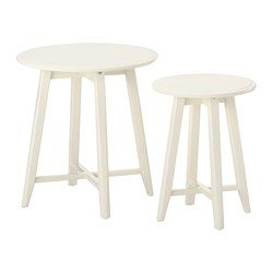 Les 25 meilleures id es de la cat gorie table d appoint for Table gigogne ikea