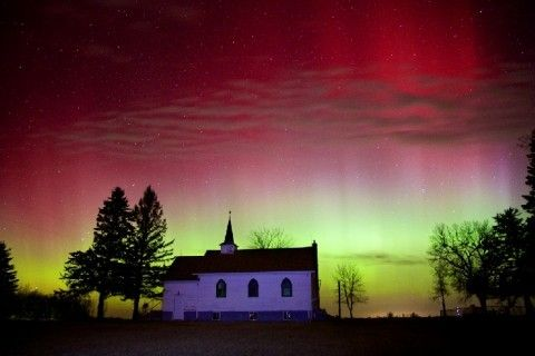 Photos: Chester, S.D. (Christian Begeman via spaceweather.com) Severe geomagnetic storm spurs beautiful St. Patrick's Day aurora - The Washington Post