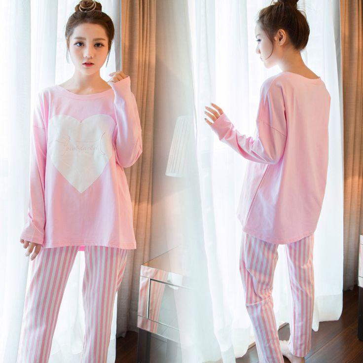 Womens Pajamas Carton Women Pajamas Set for Women Homewear Indoor Clothing Lady Thin Cute pijamas Mujer for women's Sleepwear
