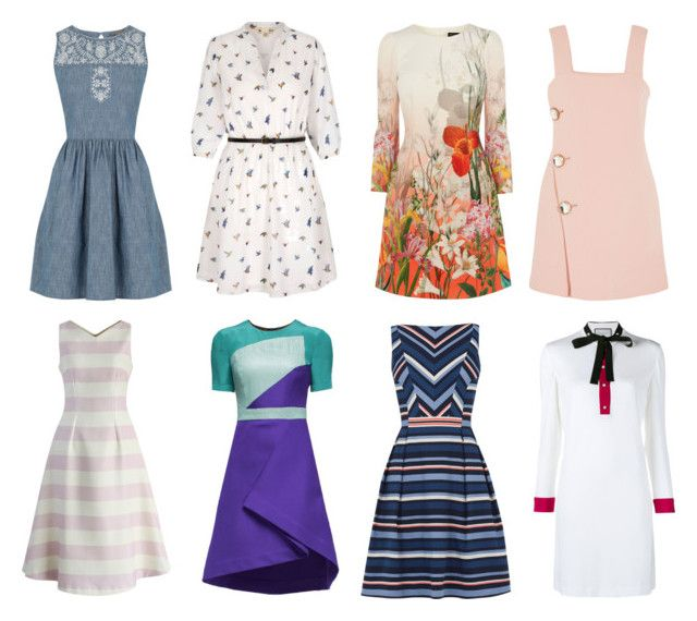 """Dresses for Juliya"" by natalya-dyukina on Polyvore featuring мода, Oasis, Yumi, Gucci, Marni, Lattori и Chicwish"