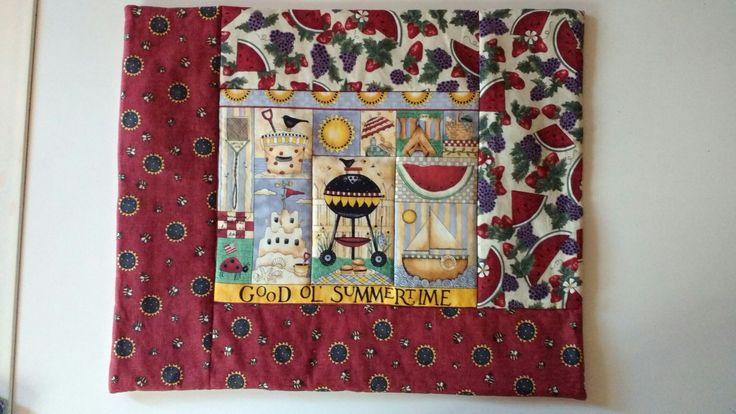 placemats patchwork redbeach