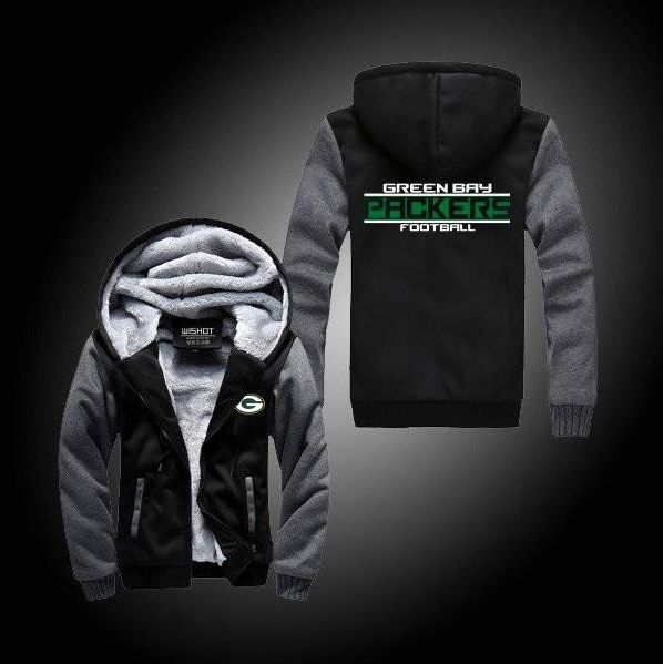 NFL GREEN BAY PACKERS THICK FLEECE JACKET