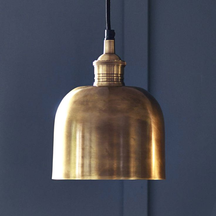 Flori Brass Pendant Light